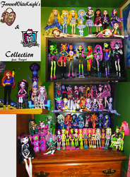 Updated Doll Collection by foreverwhiteknight