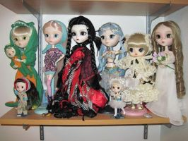 My Pullip Family by mica87