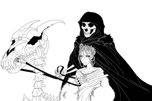 The Bride of Death by Ipku