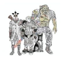 Fallout 3 - Eleanor's Crew by Rorschach94