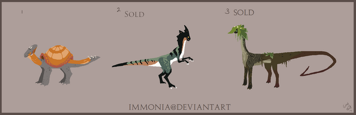 Dino Adopts 1 [Point Option Available] by Adopt-Monstar