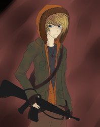 South Park Discord: Kenny McCormick by KazzieHearts