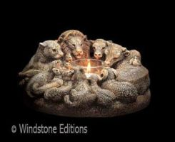Ark Animals candle lamp by Reptangle