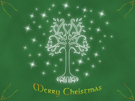 Tolkien Christmas by Bowan
