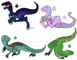 Raptor adopts by Darumemay