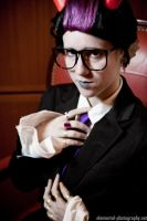Suitstuck Eridan by toppledcards
