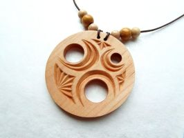 PENDANT OF THE THREE MOONS by MassoGeppetto