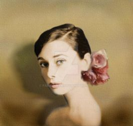 Portrait of An Icon- Audrey Hepburn by farahkhan