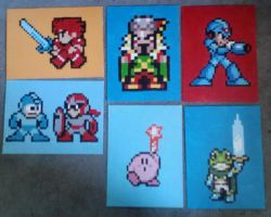 Small pieces for Bit Gen 2012 by Squarepainter