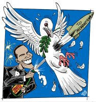 Happy 2010 from Obama by Latuff2
