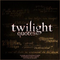 Twilight quotes brushes by martinrivass