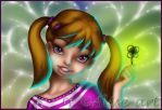 Commission - Fairy Flore - Close up by Alise-arts