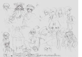silly sketches....... by ls2-TheBloodOfPeace