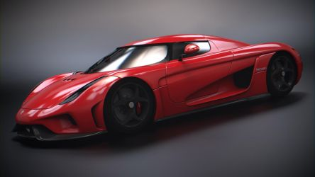 Koenigsegg Regera (Red) by BFG-9KRC