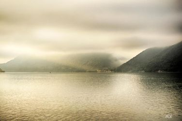 fog over Danube by Lk-Photography