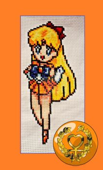 Cross Stitch Sailor Venus by Krasi90