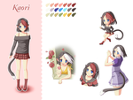 Kaori Character Sheet Preview2 by Lina01
