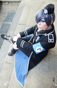 Ciel Phantomhive millitary by Papu-Zexion