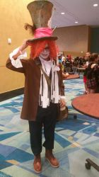 Mad Hatter cosplay by Shippuden23