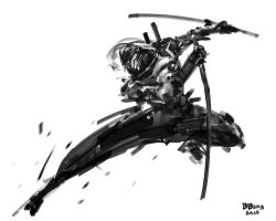 Speedpaint Shinobi by benedickbana