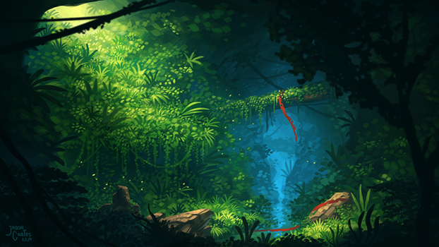 Timelapse Video: Overgrown Cave by AtTheSpeedOfFetus