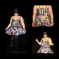 Badge dress by The-Cosplay-Badger