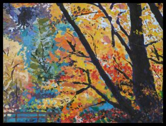 Acrylic-trees by FictarGraphics