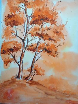 Two Tree by DiptiArt