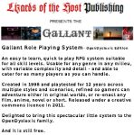 Gallant Role-Playing System - OpenDyslexic Edition by Rafellin