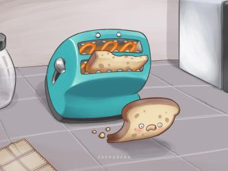 Toaster by Sheharzad-Arshad