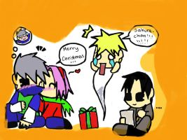 Naruto Team 7: Christmas by NarutoFan1411