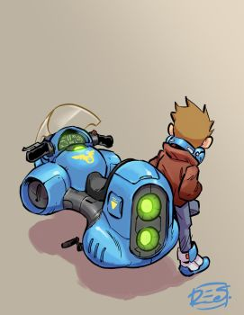 Hoverbike by donsimoni