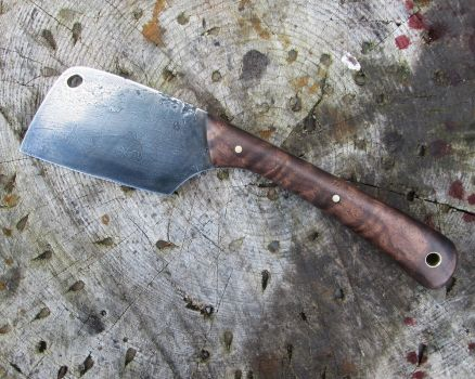 Bushcraft Cleaver by copperrein