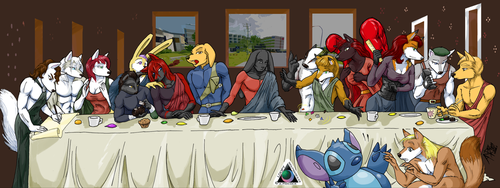 WTF 2014 Staff Meeting by LoopyWolf