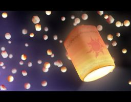 Tangled Lanterns by imonedesign
