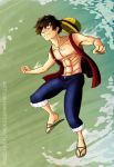 OP: Monkey D. Luffy by ChocOlive-Flamous