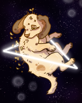 Spacedog by Red-Draws