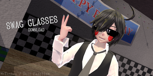 pixel SWAG Glasses +DOWNLOAD by LAnnCrydamoure