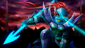 Undyne the Undying by GiStil