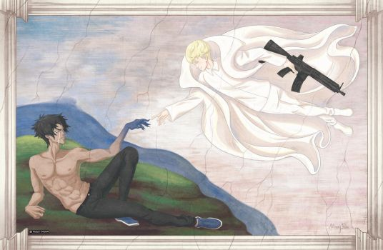 Creation of Devilman by missypena