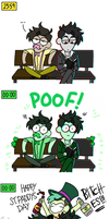 Happy St. Patrick's Day! by superloveharrypotter