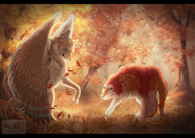 Autumn game (Commission) by Ki-Re