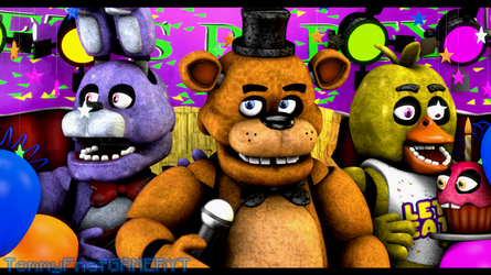 Five Nights at Freddy's - Always Here by TommyFnaf