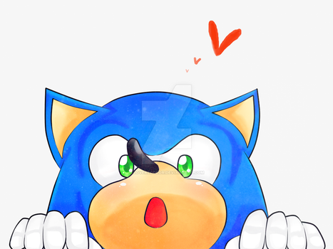 Happy B-day Sonic! by lOvErEcoLoR