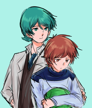 Dr Kamille and Banagher by mimidan
