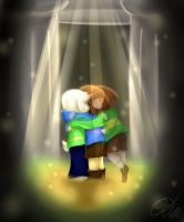 [Undertale] - I don't want to let go by CrowlKitsune