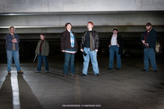 Ohayocon 2013 - Supernatural - Best Boy Band... by TheEnthusiasts