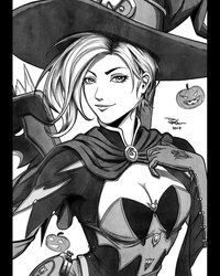 21 - Witch Mercy by DigiFlohw