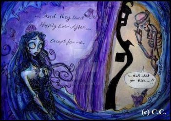 Death, Flutter On By... by Lily-pily