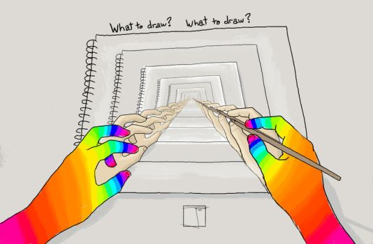 What to draw? What to draw? by SuperPhazed